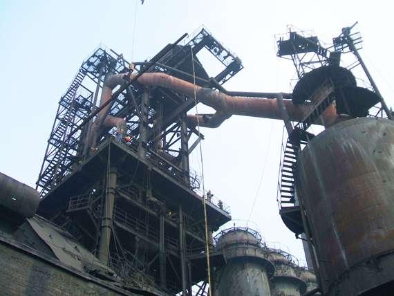 高炉布料器结构图